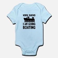 Work Sucks Boating Body Suit