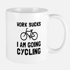 Work Sucks Cycling Mugs