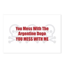 Mess With Dogo Postcards (Package of 8)