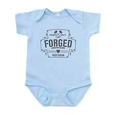 Forged Compassion Vegetarian Infant Bodysuit