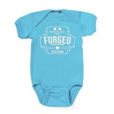 Forged Compassion Vegetarian Baby Bodysuit