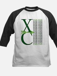 XC Run Green Green Baseball Jersey