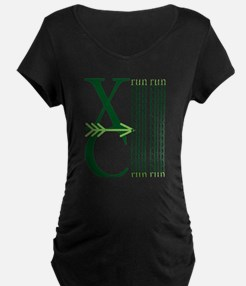 XC Run Green Green Maternity T-Shirt