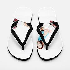 Unique Pamela Flip Flops