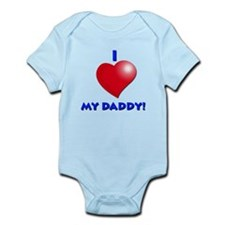 Cute Rockin dad Infant Bodysuit