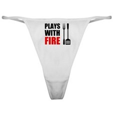 Plays With Fire Grill Classic Thong