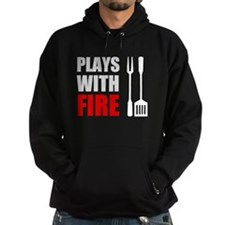 Plays With Fire Grill Hoodie