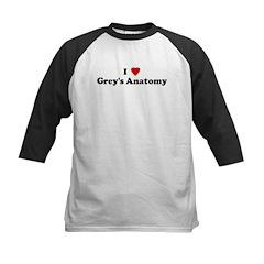 I Love Grey's Anatomy Tee