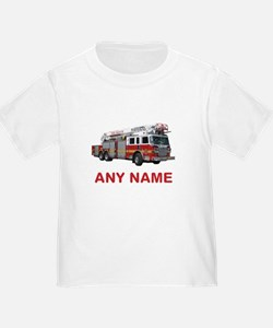 FIRETRUCK with Any Name or Text T-Shirt