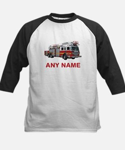 FIRETRUCK with Any Name or Text Baseball Jersey