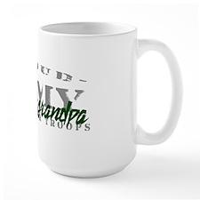 Proud Army Grandpa (green) Mug
