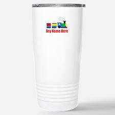 TRAIN choo choo with any name Travel Mug