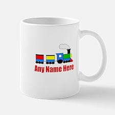 TRAIN choo choo with any name Mugs