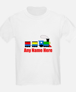 TRAIN choo choo with any name T-Shirt