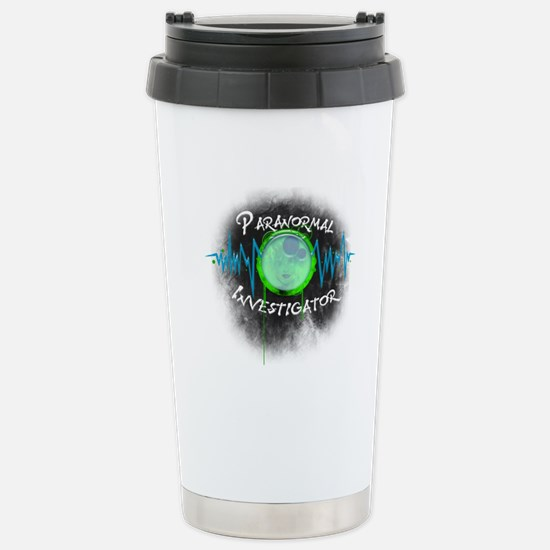 Ghost Investigator Stainless Steel Travel Mug