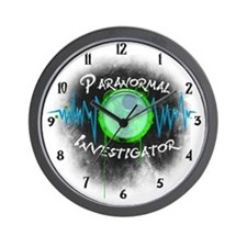 Ghost Investigator Wall Clock