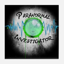 Ghost Investigator Tile Coaster