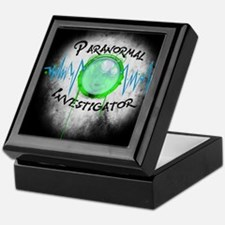 Ghost Investigator Keepsake Box