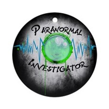 Ghost Investigator Ornament (Round)