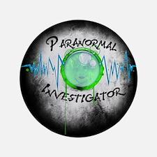 """Ghost Investigator 3.5"""" Button"""
