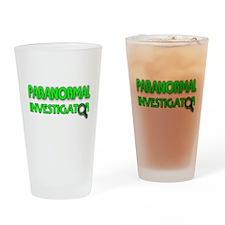 Paranormal Investigator Pint Glass