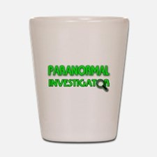 Paranormal Investigator Shot Glass