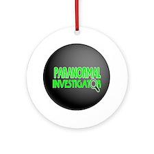 Paranormal Investigator Ornament (Round)