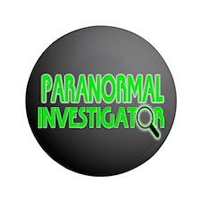 "Paranormal Investigator 3.5"" Button"