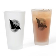 Full Moon Bat Pint Glass