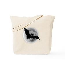 Full Moon Bat Tote Bag