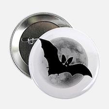 Full Moon Bat Button