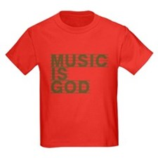 Music Is God T