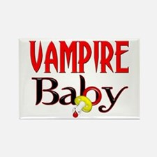 Vampire Baby Rectangle Magnet