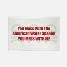 Mess With AWS Rectangle Magnet (100 pack)
