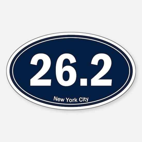 New York City Marathon 26.2 Euro Oval (Yankees) St