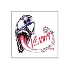 "Venom Face Square Sticker 3"" x 3"""