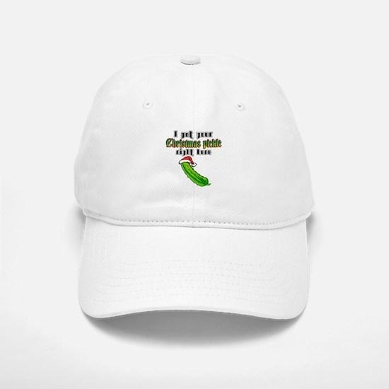 Christmas Pickle Cap