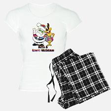 Groovy Christmas Pajamas