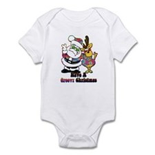 Groovy Christmas Infant Bodysuit