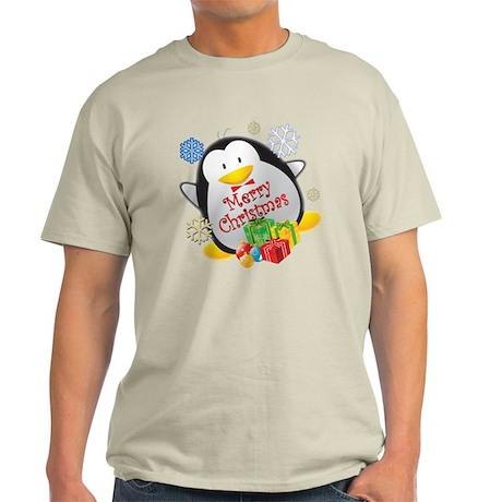Penguin Christmas Light T-Shirt