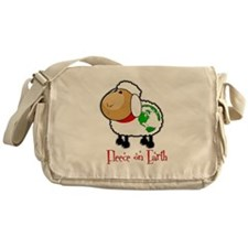 Fleece On Earth Messenger Bag