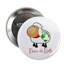 """Fleece On Earth 2.25"""" Button"""