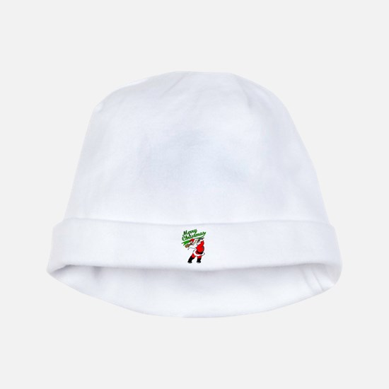 Baseball Christmas baby hat