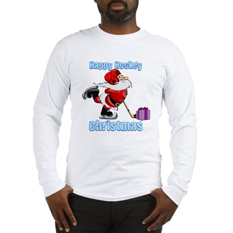 Hockey Christmas Long Sleeve T-Shirt