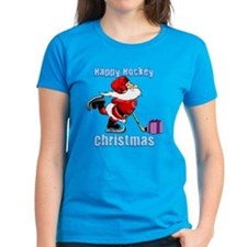 Hockey Christmas Tee