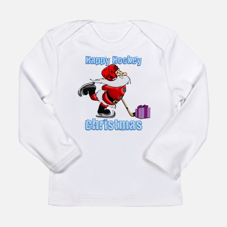 Hockey Christmas Long Sleeve Infant T-Shirt