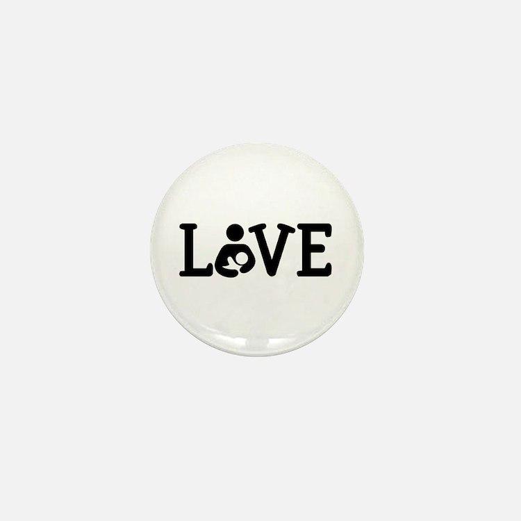 Breastfeeding Love Mini Button (10 pack)
