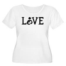 Breastfeeding Love Plus Size T-Shirt