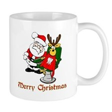 Dentist Christmas Mug