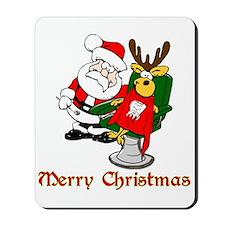 Dentist Christmas Mousepad